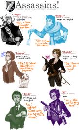 http://www.deviantart.com/art/various-assassins-etc-183620679