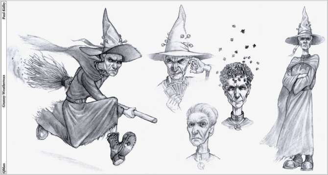 Granny Weatherwax by paul kidby