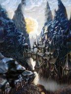 http://www.deviantart.com/art/Lancre-Castle-415299131