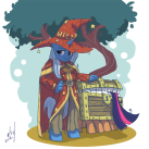 http://www.deviantart.com/#/art/Rincewind-Trixie-289614386?hf=1