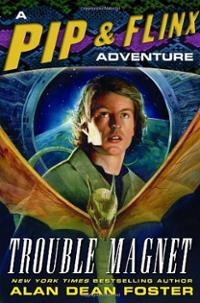 trouble-magnet-pip-flinx-adventure-alan-dean-foster-hardcover-cover-art