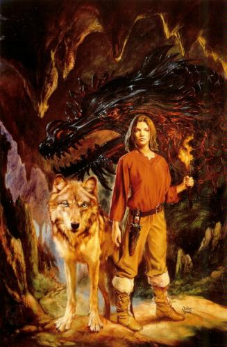 The Dragon of Despair - Julie Bell