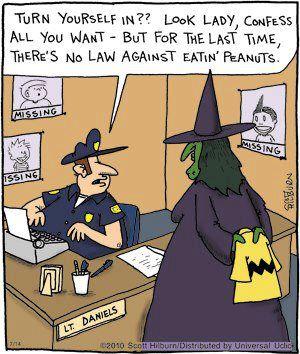 Halloween confessing