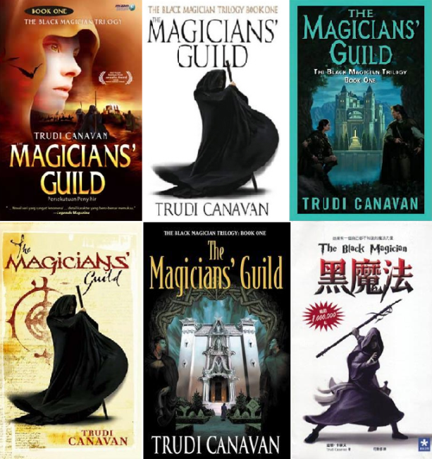 Magician's Guild - 6 different covers
