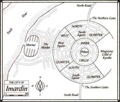 The city of Imardin - Trudi Canavan - Magician's Guild