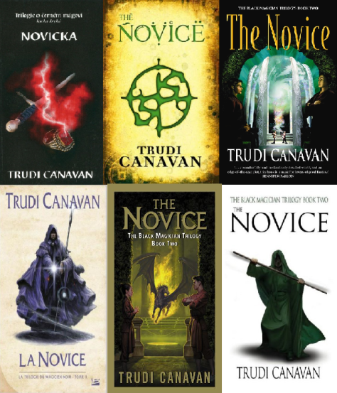 The Novice - 6 different covers