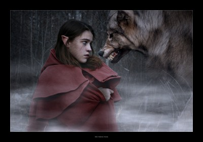 Red Riding Hood, 2014; by LessThanHuman