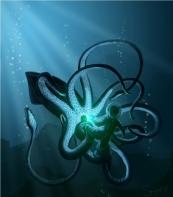 http://sarapsys.deviantart.com/art/Artemis-and-the-squid-191451902