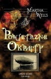 The Ships of Air - Martha Wells - Polish cover with text