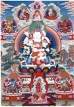 Tibetean pantheon. Credit: China Buddhism encyclopedia