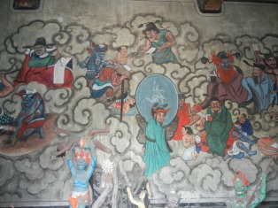 City god temple wall painting. Credit: Brian Holihan
