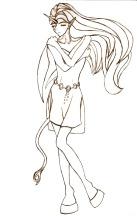 http://lafhaha.deviantart.com/art/Acorna-Unicorn-Girl-III-3428123