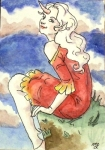 http://morganlefay77.deviantart.com/art/Unicorn-Girl-ACEO-176886319