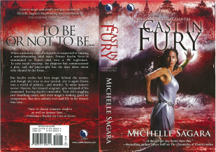 Cast in Fury - Michelle Sagara - front and back