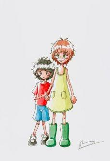http://irilaya.deviantart.com/art/Lettie-and-the-boy-457141546