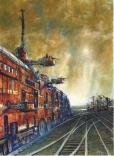 http://www.lesedwards.com/Edward-Miller/science-fiction/railsea/16716