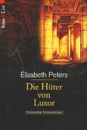 Die Hüter von Luxor, Historischer Kriminalroman