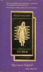 """Image is a """"Ten of Swords"""" Tarot card"""
