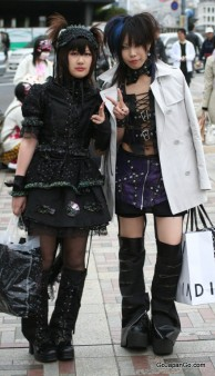 Harajuku Girls in Japan, Photograph from GoJapanGo.com