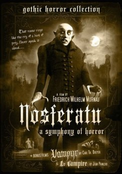 "Nosferatu is loosely based on ""Count Dracula"" by Bram Stoker."