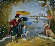 Illustrated by Michael Cheval